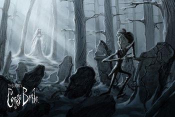 Plakát Mrtvá nevěsta - painting