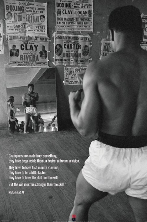 Plakat  Muhammad Ali - gym