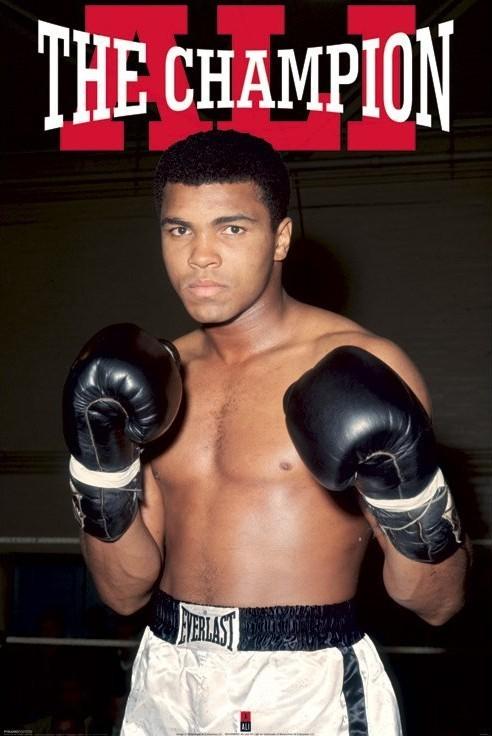 Plakát Muhammad Ali - vítěz