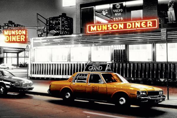Plakát Munson Diner