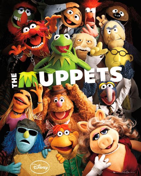 Plakát MUPPETS - teaser