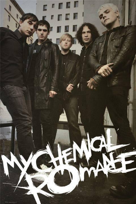 Plakat My chemical romance - fire