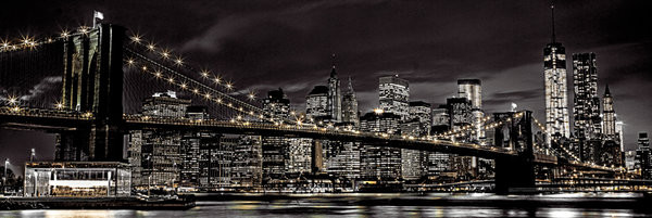 NEW YORK - Assaf Fank plakát, obraz