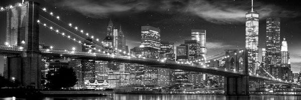 New York - Freedom Tower (B&W) plakát, obraz