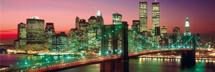 New York - Manhattan colour plakát, obraz