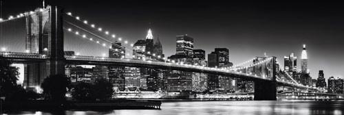 Plakát New York - panorama