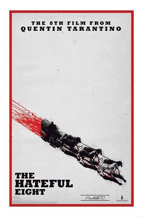 Plakat Nienawistna ósemka - Teaser