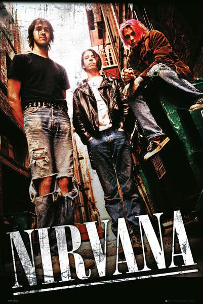Plakát Nirvana - alley
