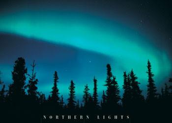 Plakát Nothern lights