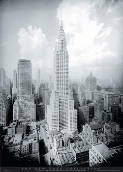 Plakat Nowy Jork - Chrysler building