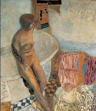 Reprodukcja Nude by the Bath Tub, 1931 - Pierre Bonnard