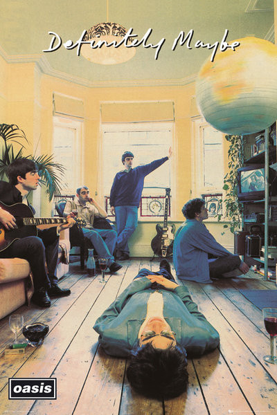 Plakát Oasis - definitely maybe
