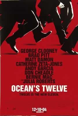 Plakat OCEAN'S TWELVE DOGRYWKA