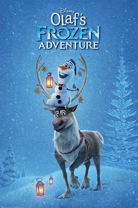 Plakát  Olafs Frozen Adventure - One Sheet
