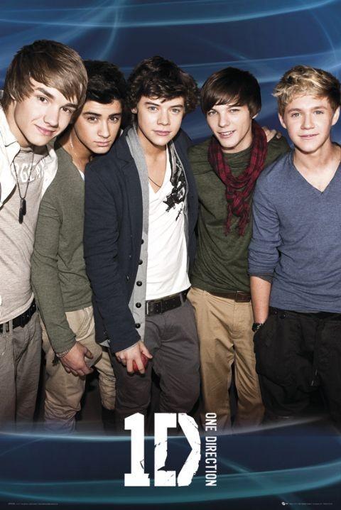 Plakát One Direction Blue