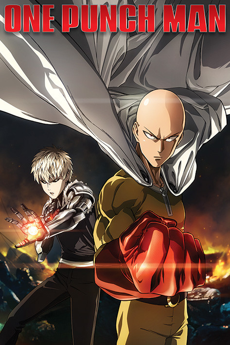 Plakát One Punch Man - Destruction