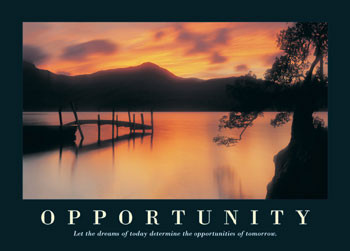 Plakat Opportunity