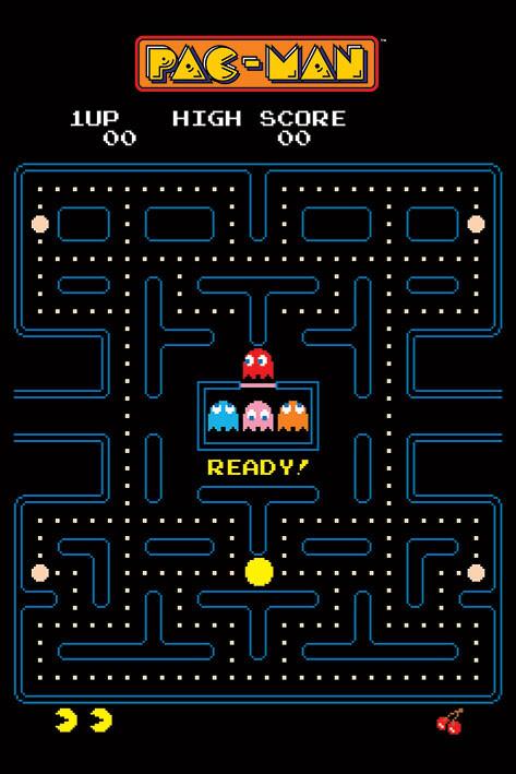 Plakát Pac-Man - Maze