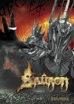 Plakát PÁN PRSTENů - Sauron dark lord
