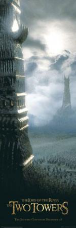 Plakát PÁN PRSTENŮ  – teaser / dvě věže