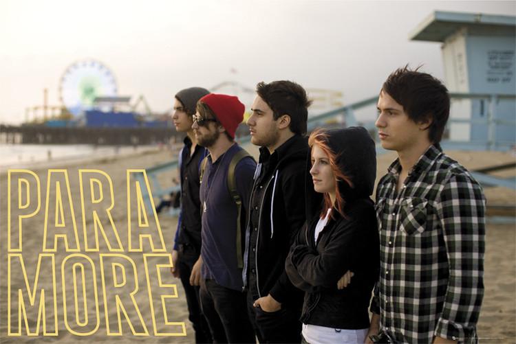 Plakát Paramore – beach