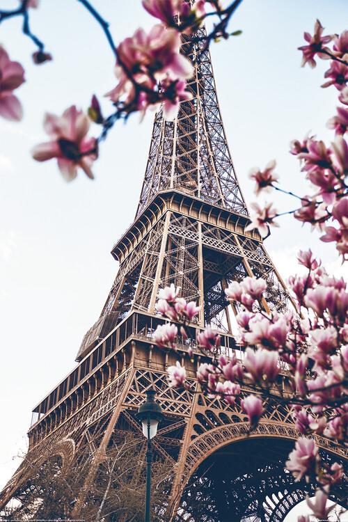 Plakát Paříž - Eiffel Tower