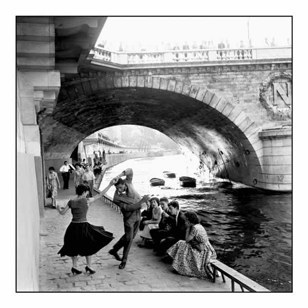 Plakát Paříž - rock & roll