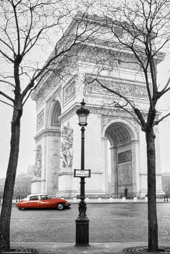 Plakát Paříž - triumphal arch