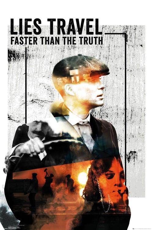 Plakát Peaky Blinders - Lies Travel