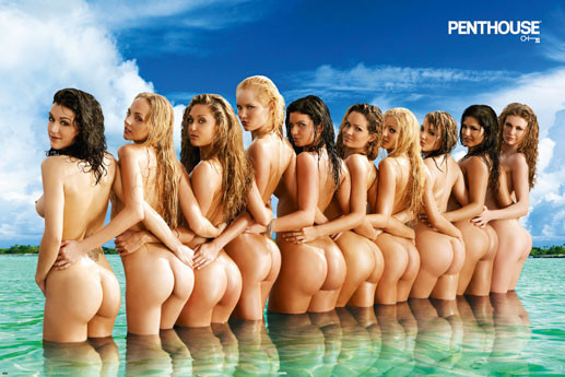 Plakat Penthouse - beach Girls