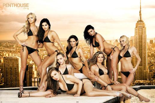 Plakát Penthouse - roof Girls