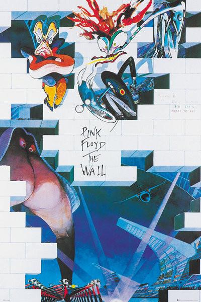 Plakát  Pink Floyd: The Wall - Album