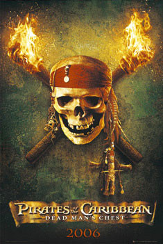 PIRÁTI Z KARIBIKU - teaser plakát, obraz