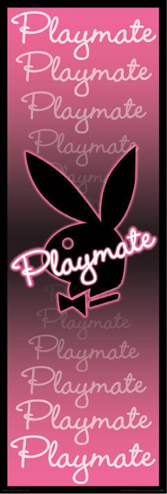 Plakat Playboy - playmate neon