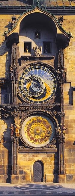Plakat Prague – Astronomical clock