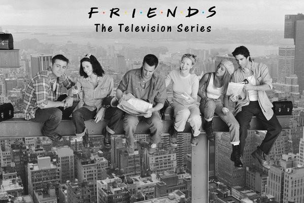 Plakát Přátelé - Friends - On Girder
