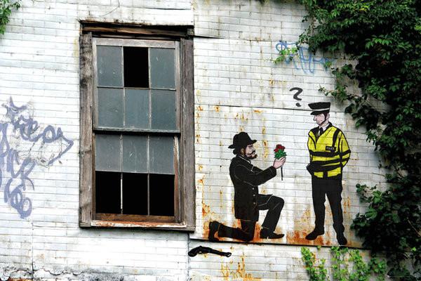 Plakát Prolifik Street Art - Police