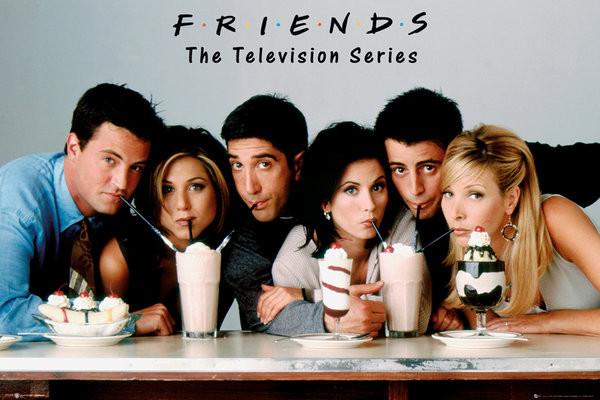 8d415cddecb9 Plakat Przyjaciele - Milkshake. Plakaty   Plakaty Filmowe   Friends