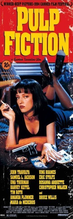 Plakat  PULP FICTION - cover