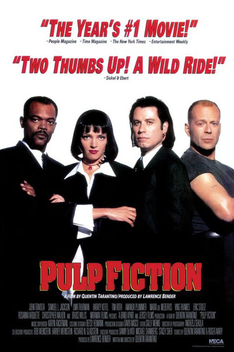 Plakát PULP FICTION - group