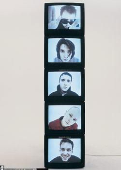 Plakat Radiohead - TV's