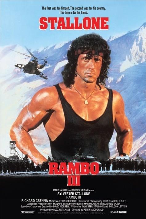 Plakát RAMBO III