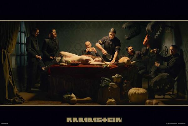 Plakat  Rammstein - album cover