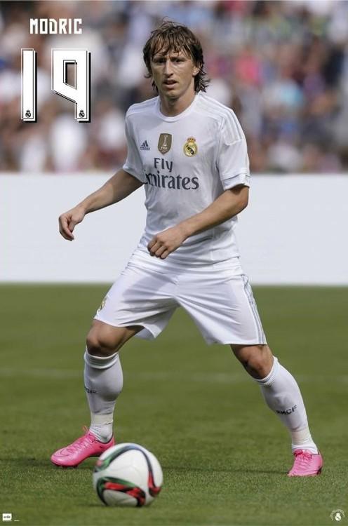 Plakát  Real Madrid 2015/2016 - Modric accion