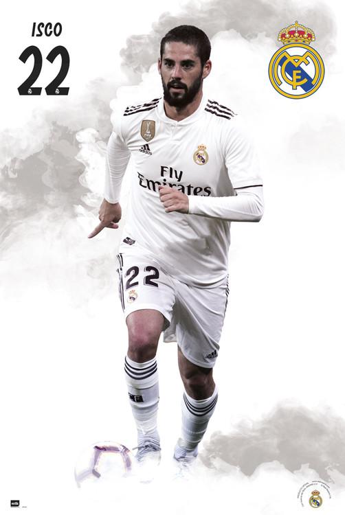 Plakat  Real Madrid 2018/2019 - Isco