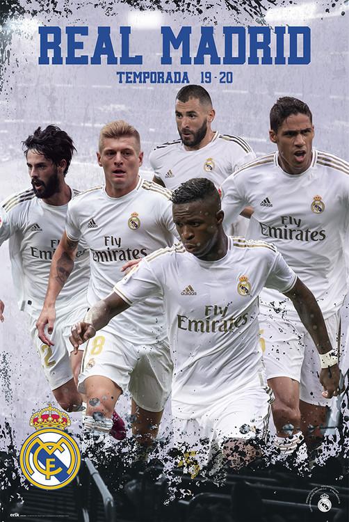 Plakat  Real Madrid 2019/2020 - Grupo