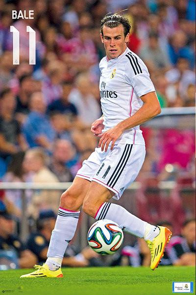 Plakát Real Madrid - Bale 14/15