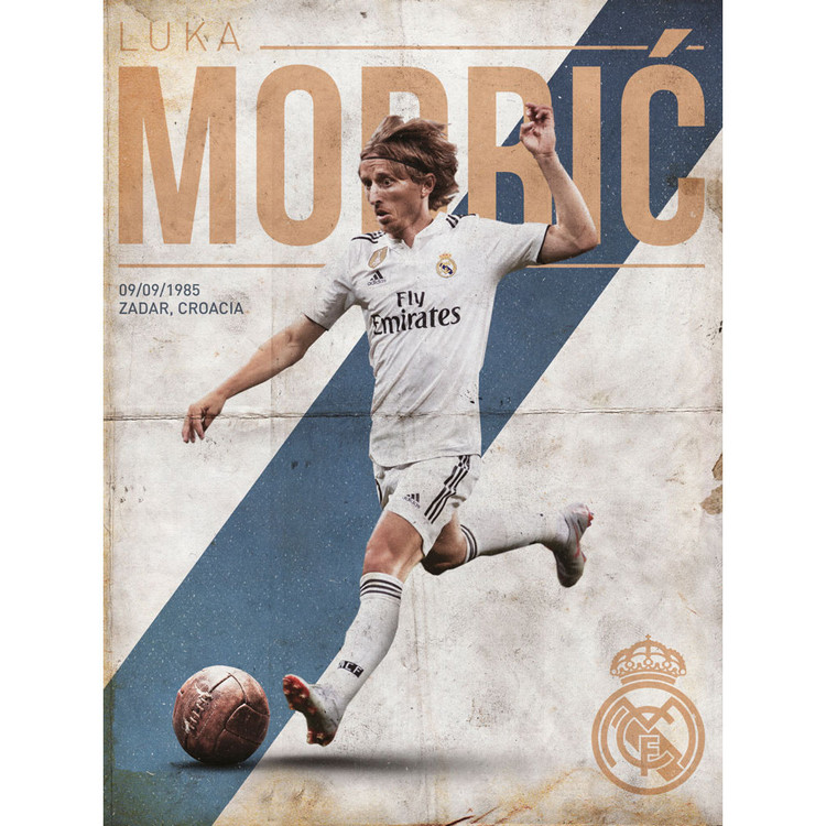 Reprodukcja  Real Madrid - Modric