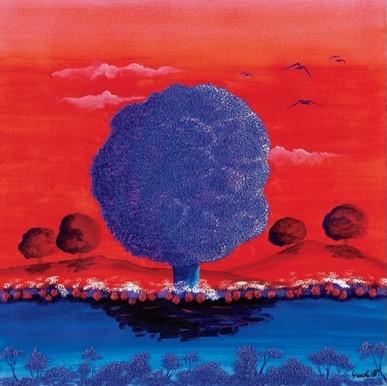 Reprodukcja Red Sunset