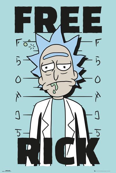 Plakát Rick And Morty - Free Rick